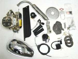 Chrome 80CC motor bicycle engine KIT motorized bike K 80