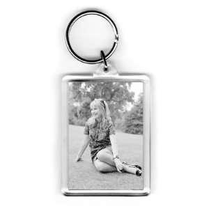 Felicity Kendal   Acrylic Keyring   Art247   Standard Size: