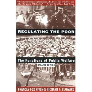 The Functions of Public Welfare [Paperback] Frances Fox Piven Books
