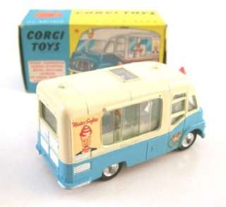 CORGI 428 SMITHS MISTER SOFTEE ICE CREAM VAN, 1963, MIB + leaflet
