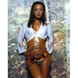 Leah Remini Hot Autographed Signed 8x10 Photo In Person Proof COA