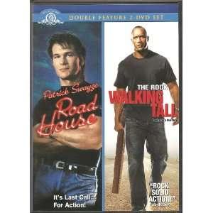 Feature 2 DVD Set. Patrick Swayze, The Rock, Kelly Lynch, Sam Elliot