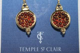 TEMPLE ST. CLAIR Target Jeweled Pomegranate Earrings