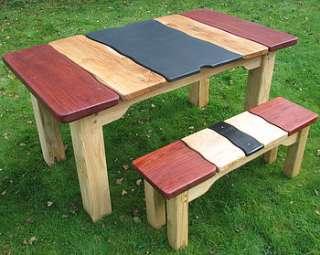 jarrah driftwood dining table by free range designs