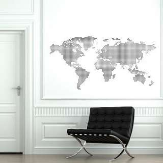 world map wall graphics by caroline mcgrath