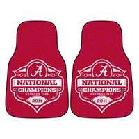 Alabama Crimson Tide 2011 BCS National Championship Printed Carpet Car