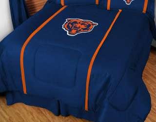Chicago Bears MVP Team Color Comforter   Full/Queen Bed