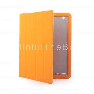 protection intelligents cas avec le stand pour iPad 2 orange #00186754