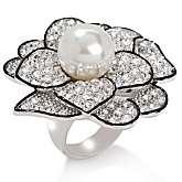 Joan Boyce Best of the Best Pavé Crystal Flower Ring