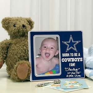 Born to be a Dallas Cowboys Fan Photo Frame