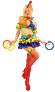 Adult Circus Cutie Sexy Clown Costume   Sexy Adult Costumes