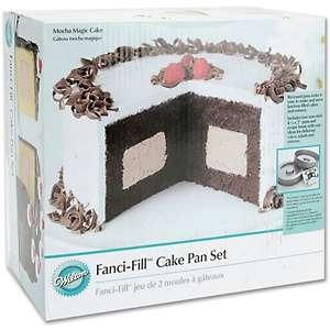 Wilton Fanci Fill Cake Pan Set at HSN