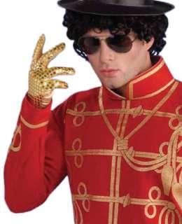 Michael Jackson Gold Glove   Michael Jackson Costume Accessories
