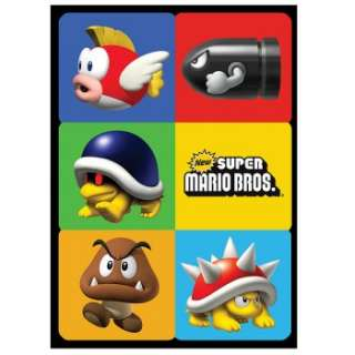 Super Mario Bros. Sticker Sheets Ratings & Reviews   BuyCostumes