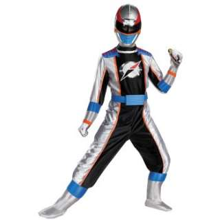 Power Rangers Operation Overdrive Silver Ranger Complete Child Costume
