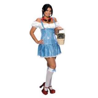 Halloween Costumes Sexy Sequin Dorothy Adult Plus Costume
