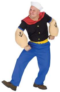 home adult costumes cartoon costumes popeye adult costume