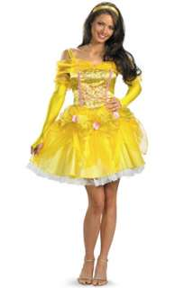 Disney Princess Sassy Belle Adult Costume for Halloween   Pure
