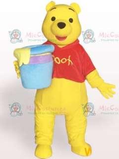 Winnie Pooh Bear Short Plush Adult Mascot Costume  Buy Winnie Pooh