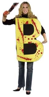 Adult Killer B Costume   Funny Halloween Costumes   15GC6047