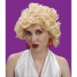 Adult Movie Star Wig   Marilyn Monroe Costume Wigs   15FW8167