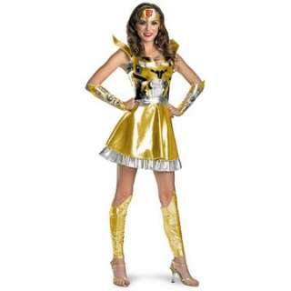 Transformers   Bumblebee Sexy Deluxe Adult Costume   Includes Dress