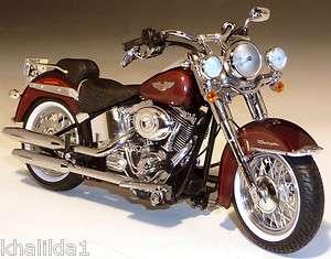 2011 Harley Davidson FLSTN Softail Deluxe Diecast Motorcycle 112
