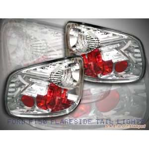 Ford F150 Tail Lights Chrome Flareside Taillights 2004 2005 2006 2007