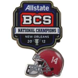NCAA Alabama Crimson Tide 2011 BCS National Champions Pin