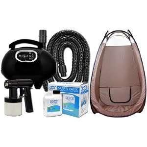 Solution Tanning KIT + TENT Machine w/ Heat Airbrush Tan Air Brush