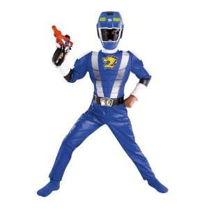All Occasions DG50423L Power Ranger Blue Muscle Size 4 6 Toys & Games
