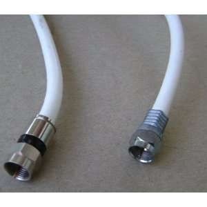 Male Male MM TV Antenna Television Cable with two different connector