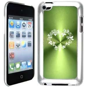 Apple iPod Touch 4 4G 4th Generation Green B613 hard back case