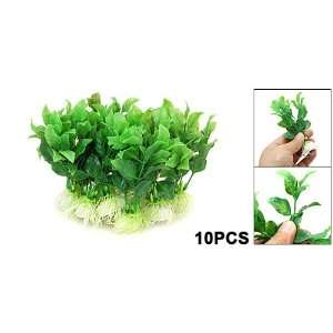 Green Plastic Grass Aquarium Plants Fish Tank Decoration Pet Supplies