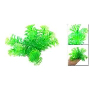 : Como Hard Plastic Plant Aquarium Tank Ornament Grass: Pet Supplies