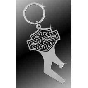 Harley Davidson Car Truck SUV Key Chain Metal   Bottle Opener w/ Bar