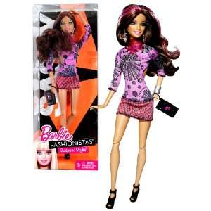 Barbie Fashionistas Swappin Styles Series 12 Inch Doll   SASSY Barbie