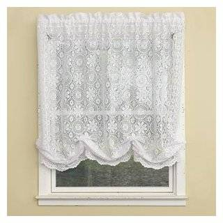Hopewell Lace Balloon Shade Cream Lace Balloon Shade