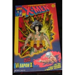X MEN 10 Action Figure (WEAPON X) fully poseable with