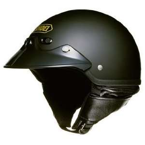 Shoei St Cruz Open Face Motorcycle Helmet Matte Black