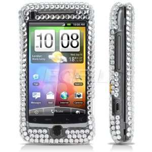 HELLO KITTY CRYSTAL BLING CASE COVER FOR HTC DESIRE Z Electronics
