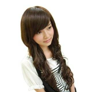 New Women Long Fashion Full Curly Hair Wig 3 Colors Available