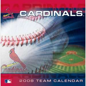 St. Louis Cardinals 2008 Box Calendar