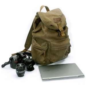DSLR SLR Camera Shoulder Case Backpack Rucksack Bag With Waterproof