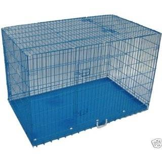 48 Pet Folding Dog Cat Crate Cage Kennel w/PP Tray LC