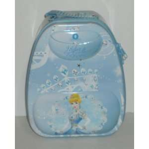 Disney Princess Cinderella Backpack Shaped Tin Lunch Box