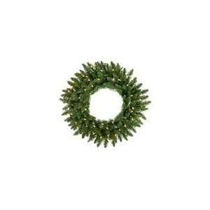 Camdon Fir Artificial Christmas Wreath   Clear Dura L