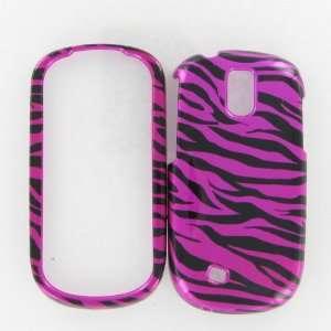 Smart Zebra on Hot Pink Hot Pink/Black Protective Case