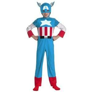 Marvel Comics Captain America Fiber Optic Child Costume