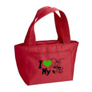 Cricut Compatible Cartridge and Supply Carrying Tote, Red